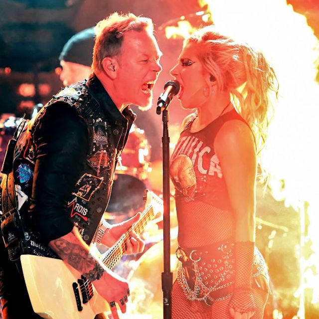 Metallica X Lady Gaga