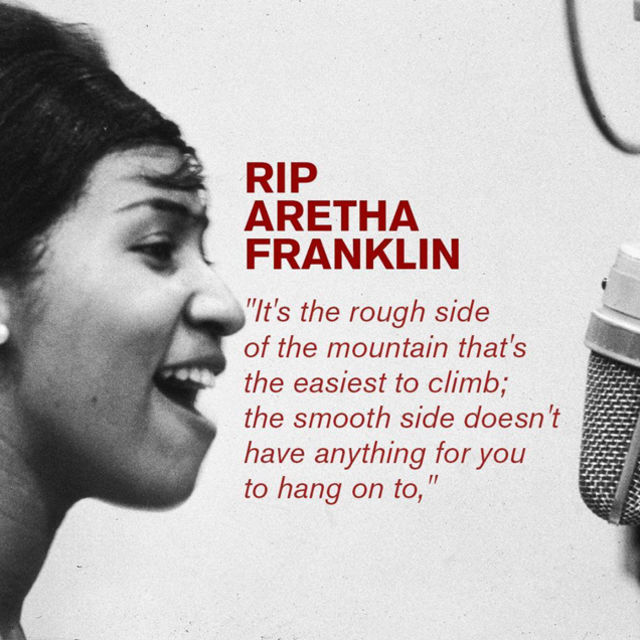 We Love You Aretha Franklin