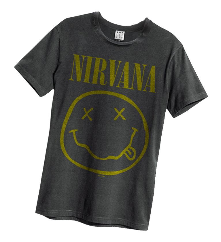 nirvana t shirts kurt cobain t shirts amplified. Black Bedroom Furniture Sets. Home Design Ideas