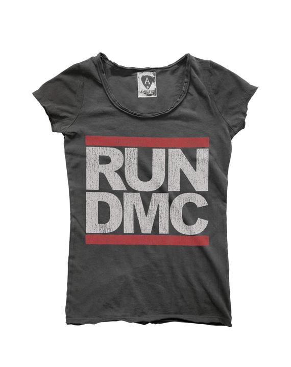 run dmc logo women run dmc t shirts amplified. Black Bedroom Furniture Sets. Home Design Ideas