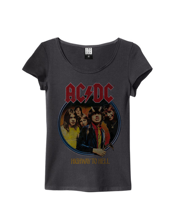 ACDC HIGHWAY TO HELL WOMENS SLIM FIT