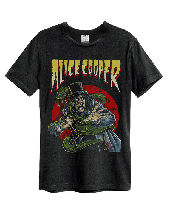 alice cooper with snake alice cooper tshirts amplified