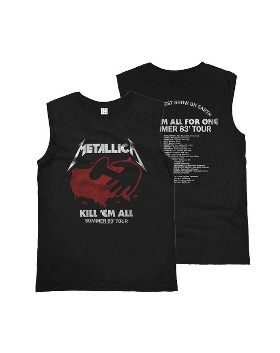 METALLICA KILL EM ALL 83 TOUR