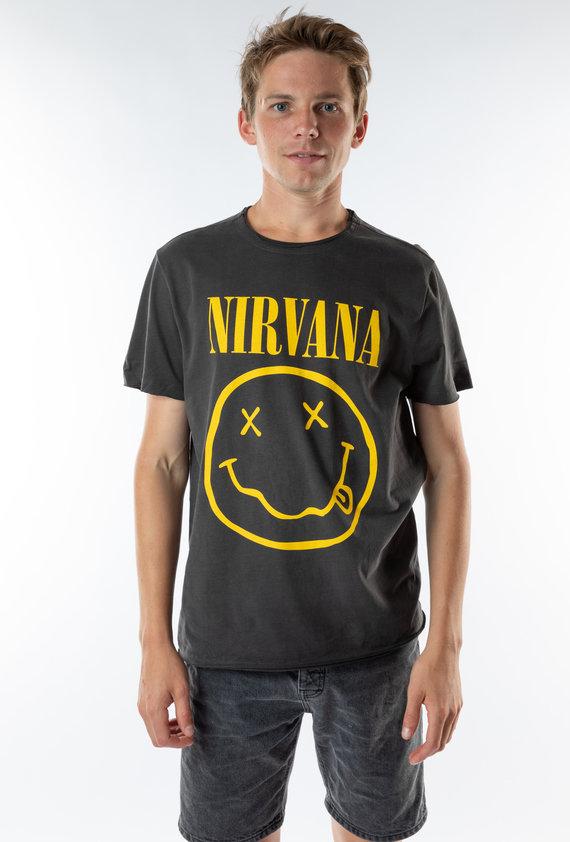 Amplified Herren Nirvana-in Utero Colour T-Shirt