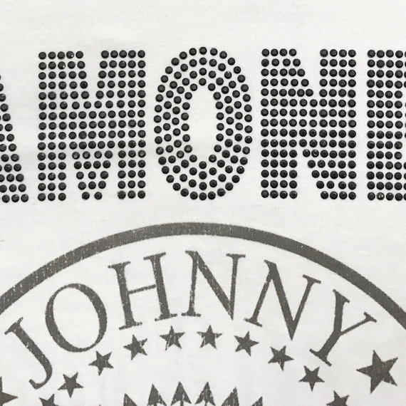 RAMONES DIAMANTE BLACK LOGO VEST