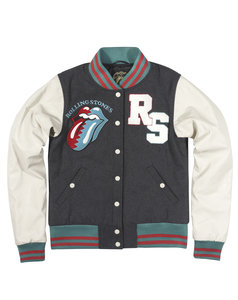 THE ROLLING STONES VARSITY JACKET WOMEN