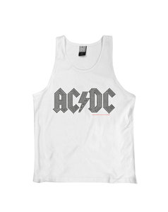 ACDC BLACK LOGO DIAMANTE VEST