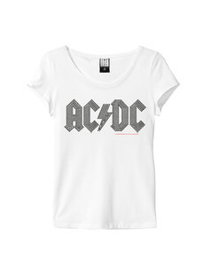 View the ACDC BLACK DIAMANTE LOGO WOMEN  online at Amplified