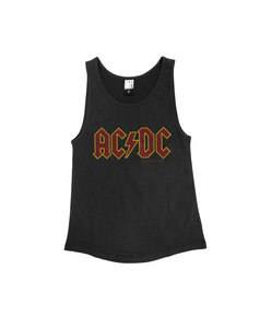 View the ACDC CLASSIC DIAMANTE LOGO VEST WOMEN  online at Amplified