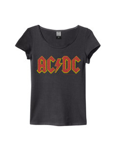 View the ACDC LOGO WOMENS SLIM FIT online at Amplified