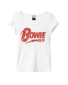 View the DAVID BOWIE LOGO WOMEN online at Amplified