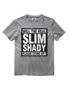 EMINEM SLIM SHADY STAND UP T-SHIRT