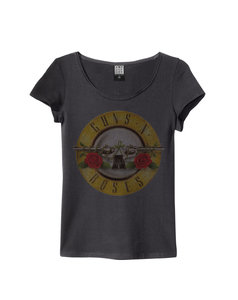 View the GUNS N ROSES DRUM WOMENS SLIM FIT online at Amplified