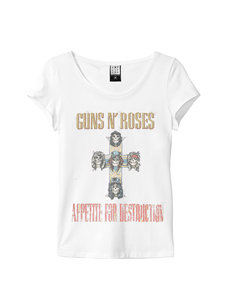 View the GUNS N ROSES WOMEN DIAMANTE online at Amplified