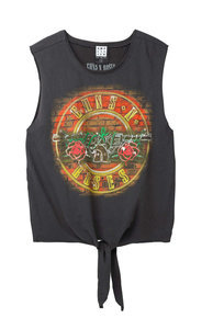 Paradies City T-Shirt XL, Charcoal Amplified Guns n Roses L.A