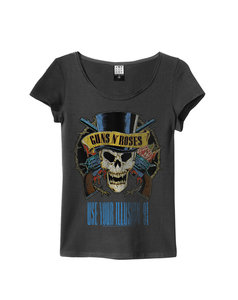 View the GUNS N ROSES USE YOUR ILLUSION WOMENS SLIM FIT online at Amplified