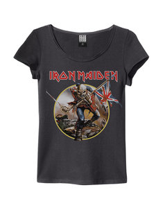 View the IRON MAIDEN TROOPER WOMENS SLIM FIT online at Amplified