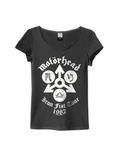 View the MOTORHEAD IRON FIST WOMEN online at Amplified