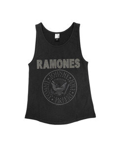 RAMONES DIAMANTE LOGO VEST WOMEN
