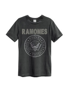 View the RAMONES SILVER DIAMANTE LOGO online at Amplified