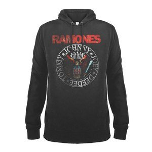 View the RAMONES RED SEAL HOODIE online at Amplified