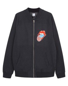 View the THE ROLLING STONES BOMBER JACKET online at Amplified