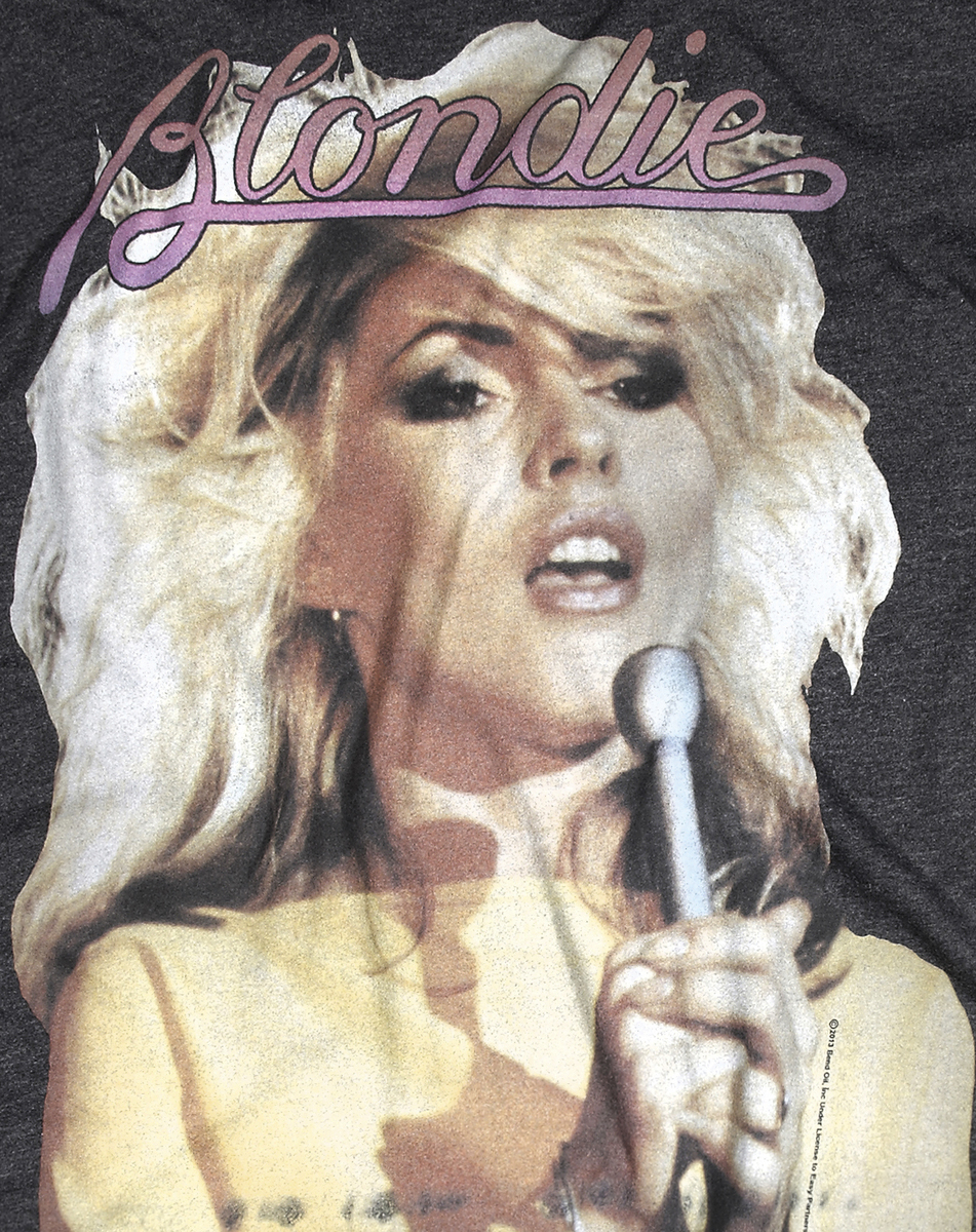 Blondie studded t shirt women blondie t shirts amplified