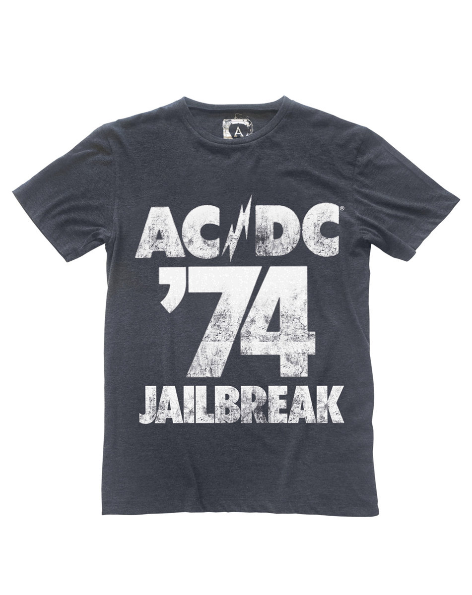 acdc jailbreak 74 t shirt ac dc t shirts amplified. Black Bedroom Furniture Sets. Home Design Ideas