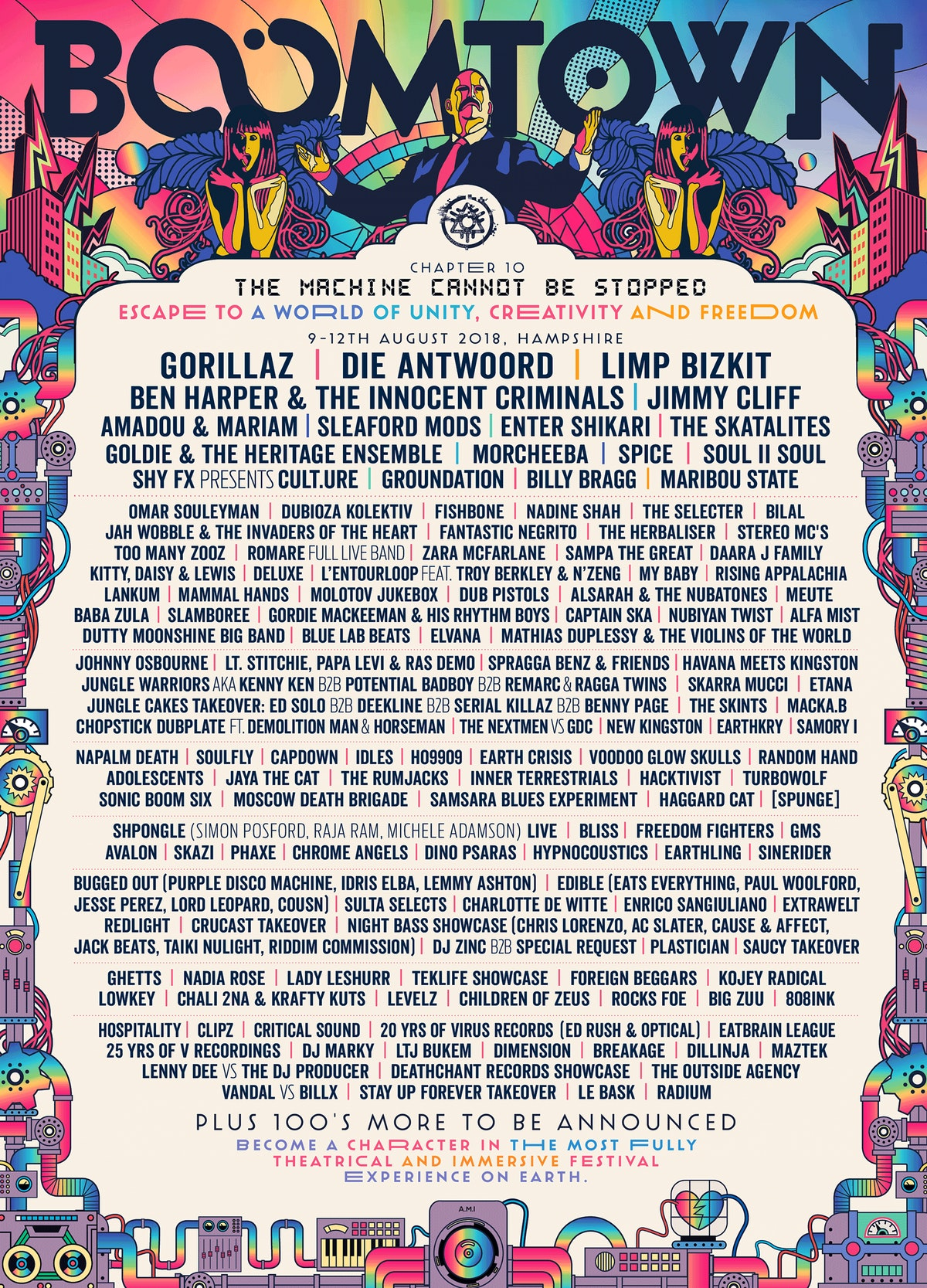 Boomtown Line Up