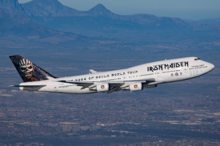air force one vs iron maiden