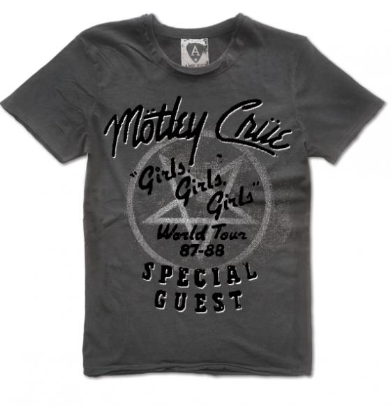 Motley Crue Farewell Tour T Shirts