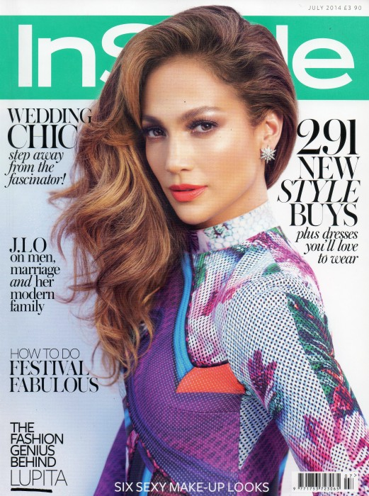 Instyle Cover - July 14